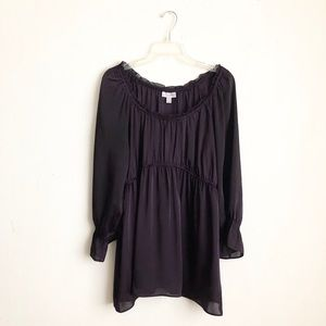 Fashion bug purple blouse sz:Xl slip on boho